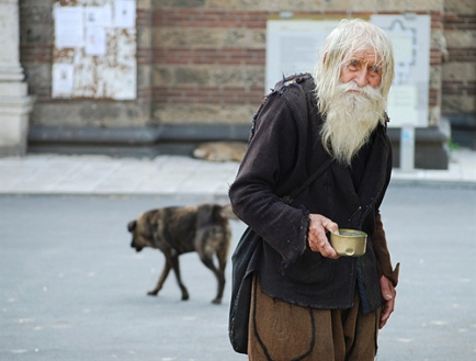 Beggar Pravmir.com